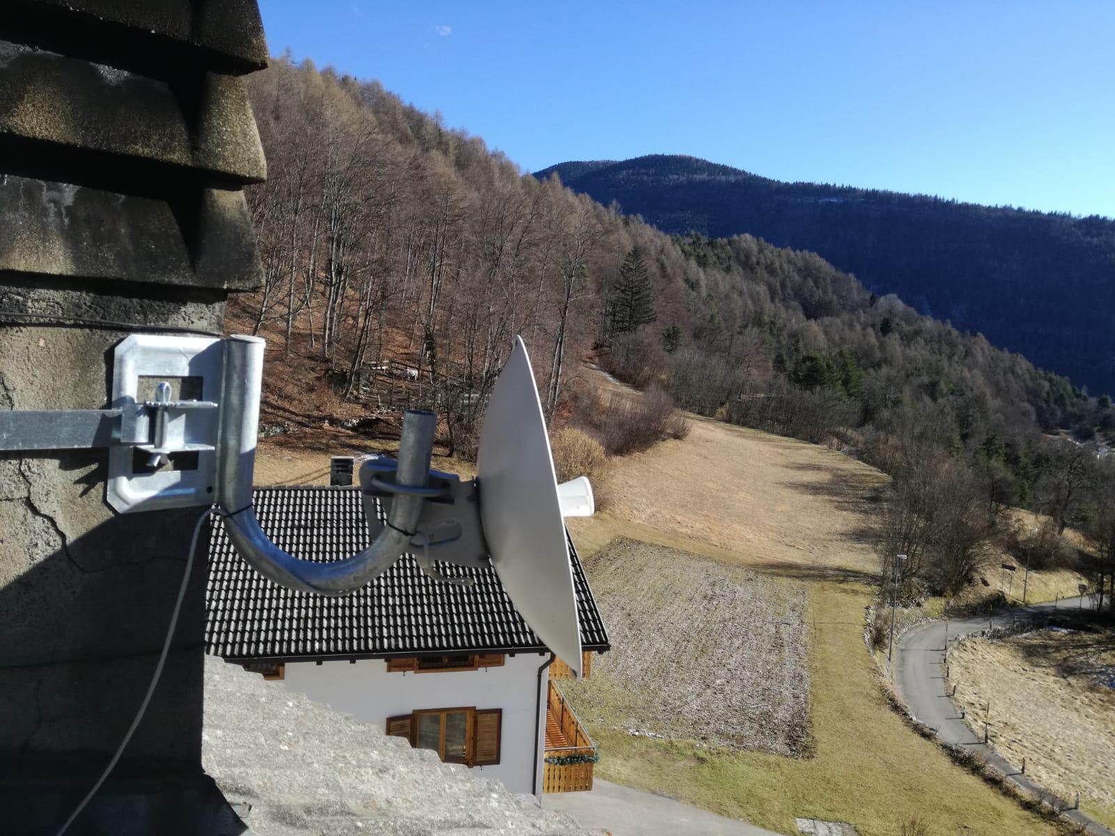 Linea Veloce Trentino - Cliente loc. Peneri Folgaria (TN)