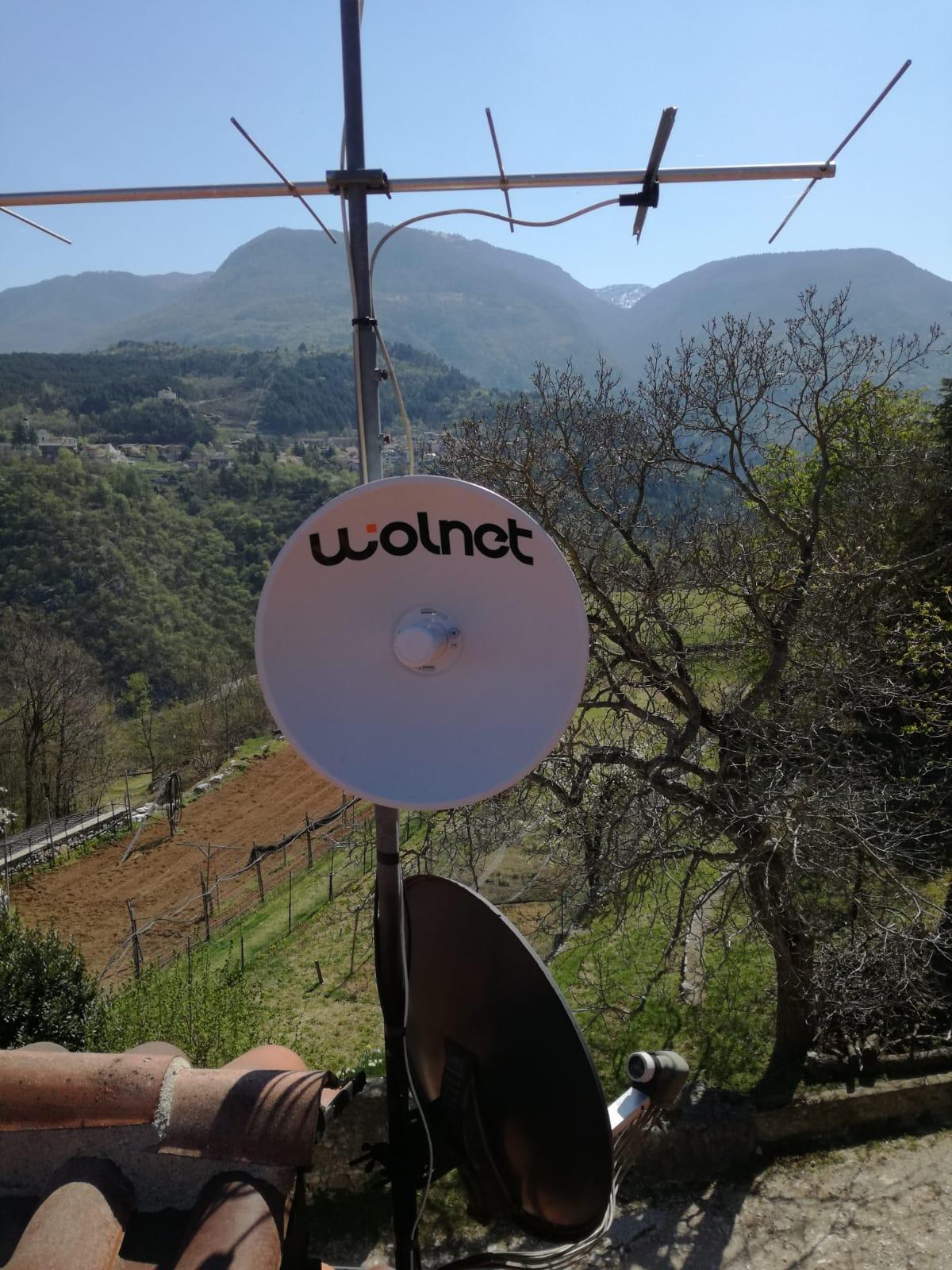 Linea Veloce Trentino - Cliente di Sich di Vallarsa (TN)