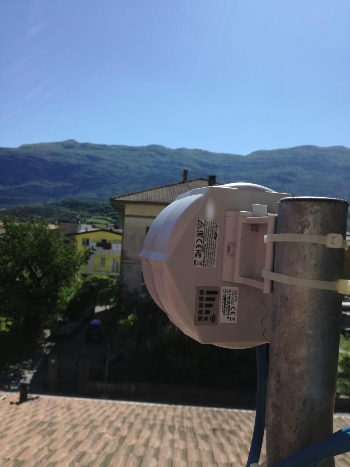 Linea Veloce Trentino - Cliente di Sarche (TN)