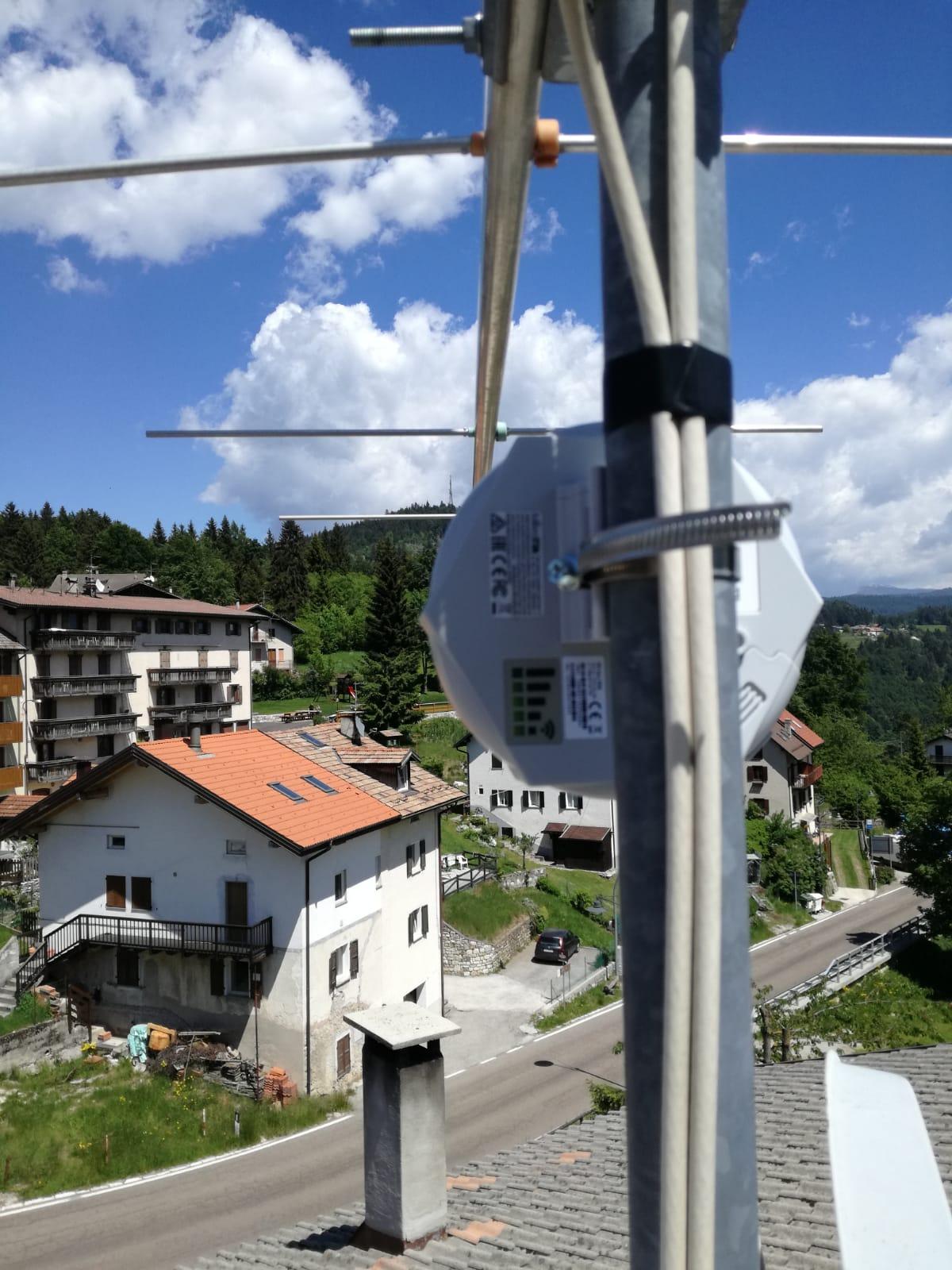 Linea Veloce Trentino - Cliente di Carbonare (TN)