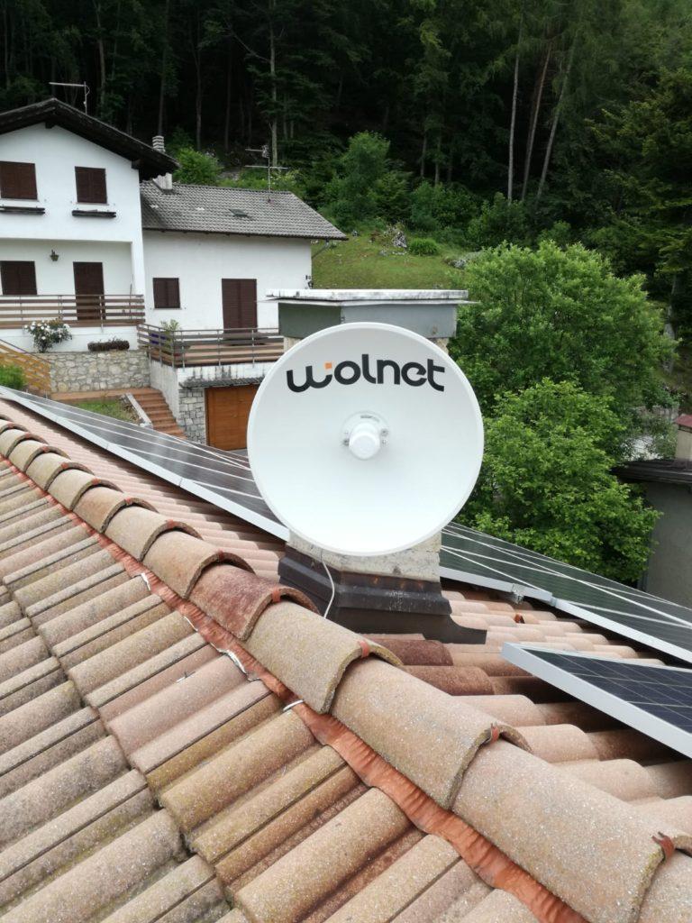 Linea Veloce Trentino - Cliente di Lagolo (TN)