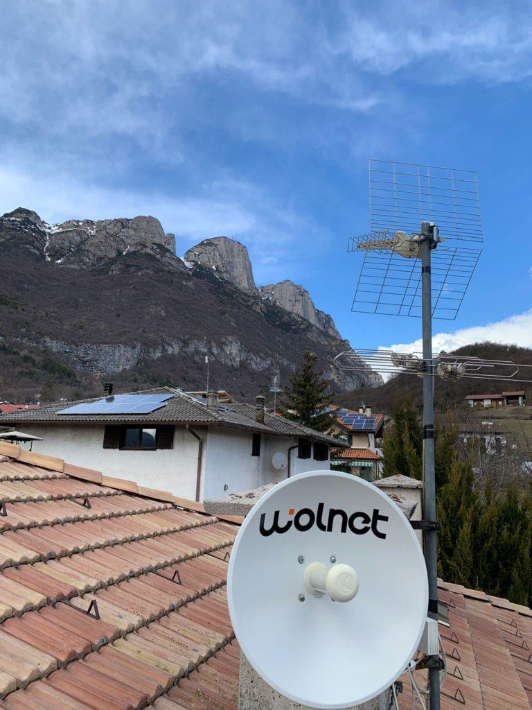 Linea Veloce Trentino - Cliente di Vallelaghi (TN)